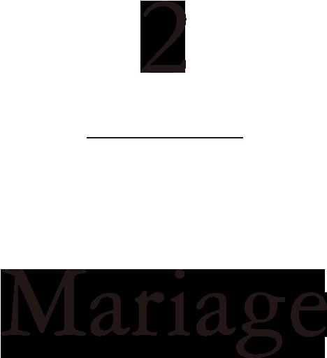 2.Mariage